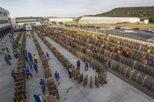 SPAIN – Record team building activity for Lidl kickoff