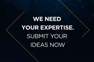 We need your expertise. Submit your ideas now
